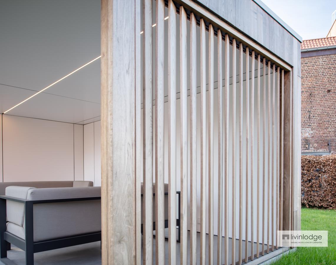 Houten shutters - BIjgebouwen op maat