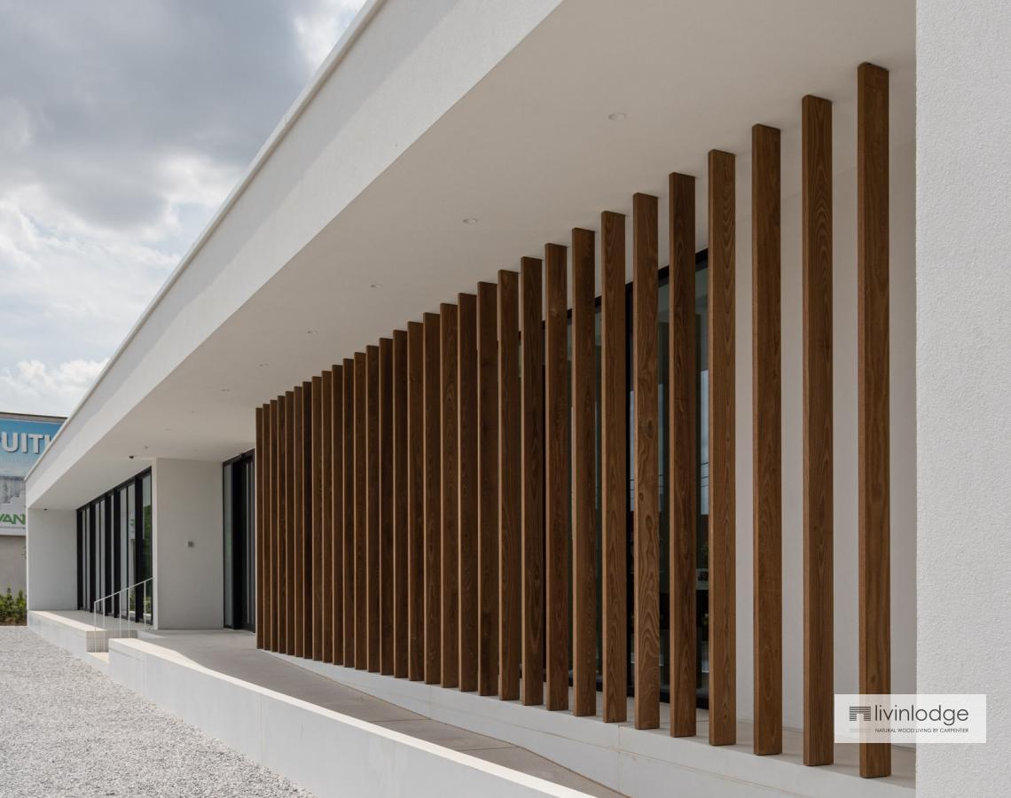 Houten shutters als zonwering | Livinlodge
