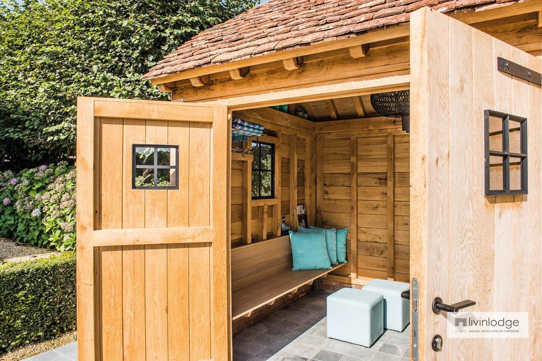 poolhouses cottage stijl